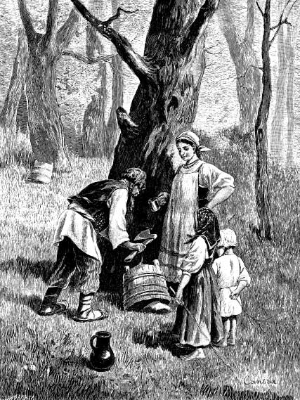 життя селянина у середньовіччі фото