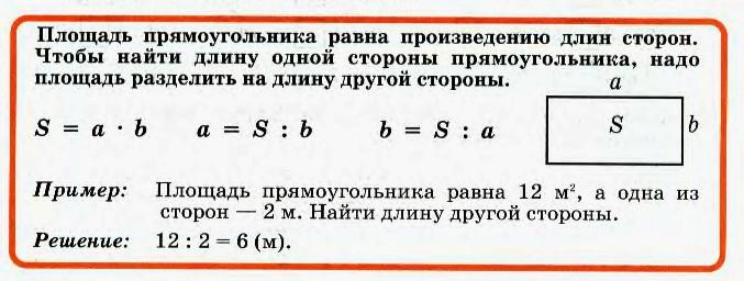 Урок математики в 4м классе по теме ар гектар