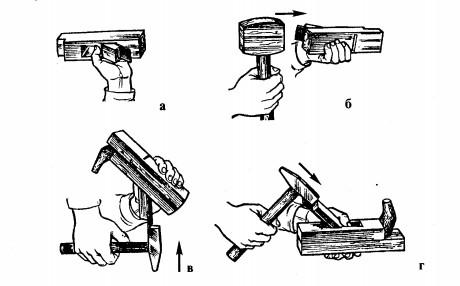 Настройка ручного рубанка делаем своими руками