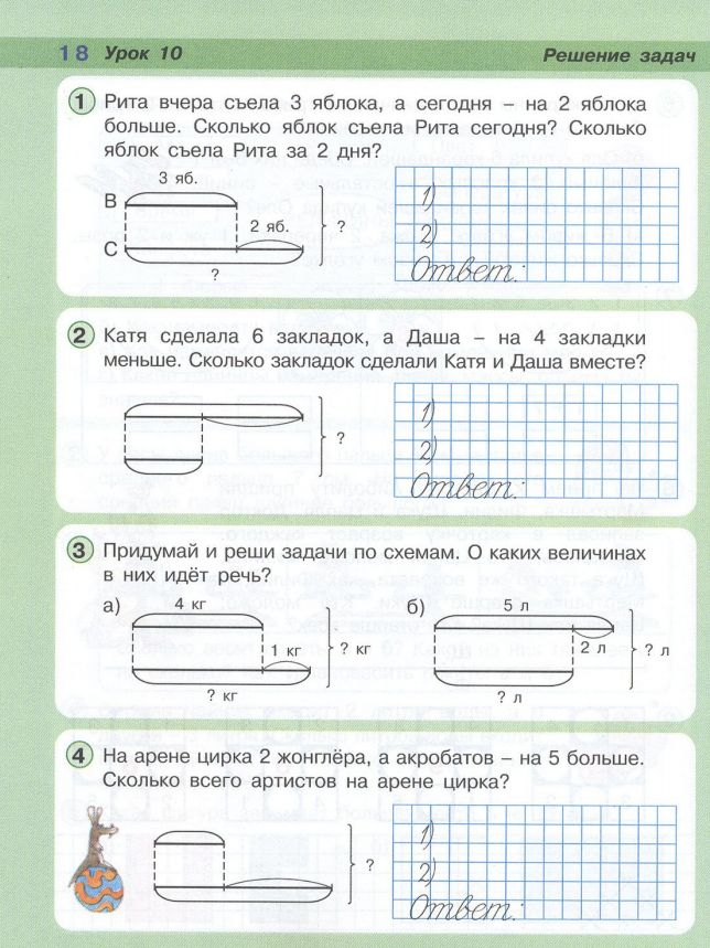 задач класс решения схемы 2