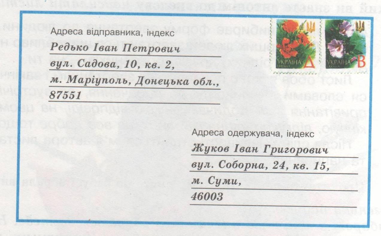 Адрес на картинках