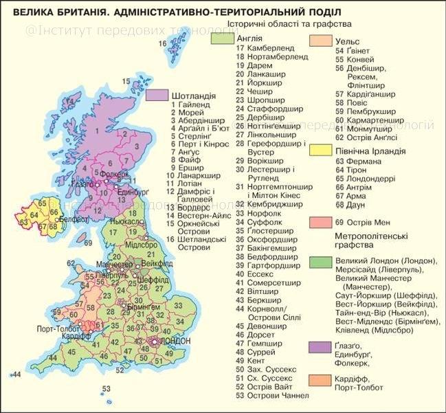 список літератури про право великої британії