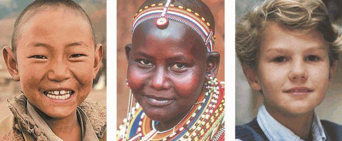 Расы европеоидная негроидная монголоидная их цвет кожи цвет волос разрез глаз форма носа народы