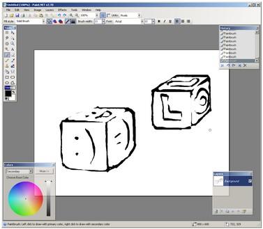 Как сделать раскраску в paint net