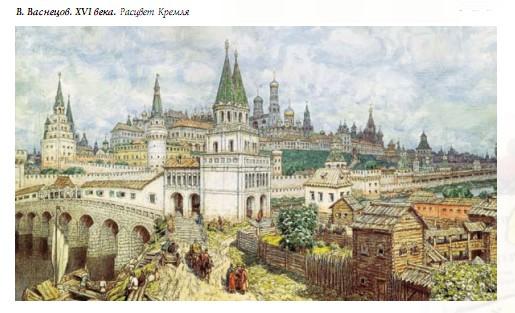 Архитектура исторического города Гипермаркет знаний ВАСНЕЦОВ xvi в Расцвет Кремля
