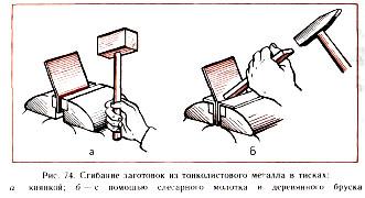 Реферат на тему правка и гибка металла 2736