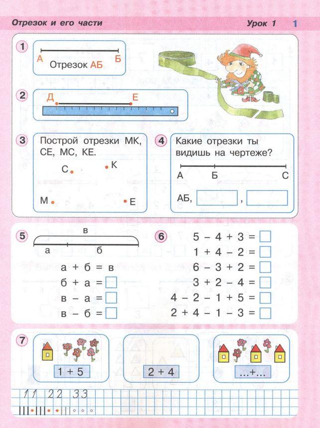 Людмила петерсон: математика 1 класс скачать