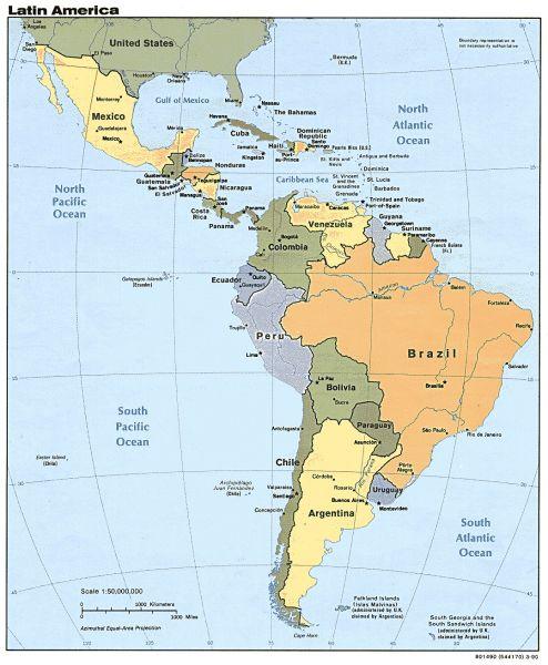 Medio ambiente en america latina